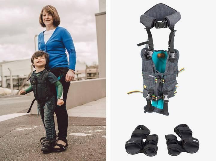 Ό,τι πιο γλυκό είδαμε σήμερα! Μαμά, σχεδίασε πρωτοποριακή συσκευή για παιδιά με κινητικά προβλήματα!