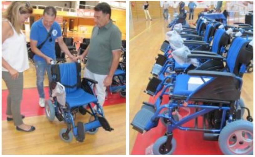 Αναπηρικά αμαξίδια δωρεάν