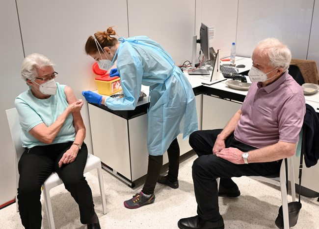 Εμβολιασμός Γερμανία